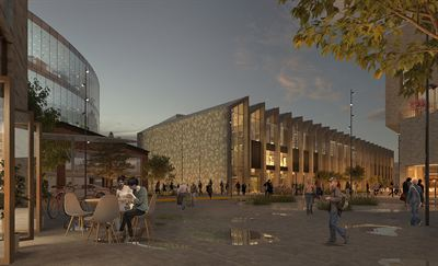 Campushallen etablerar sig i Ebbepark