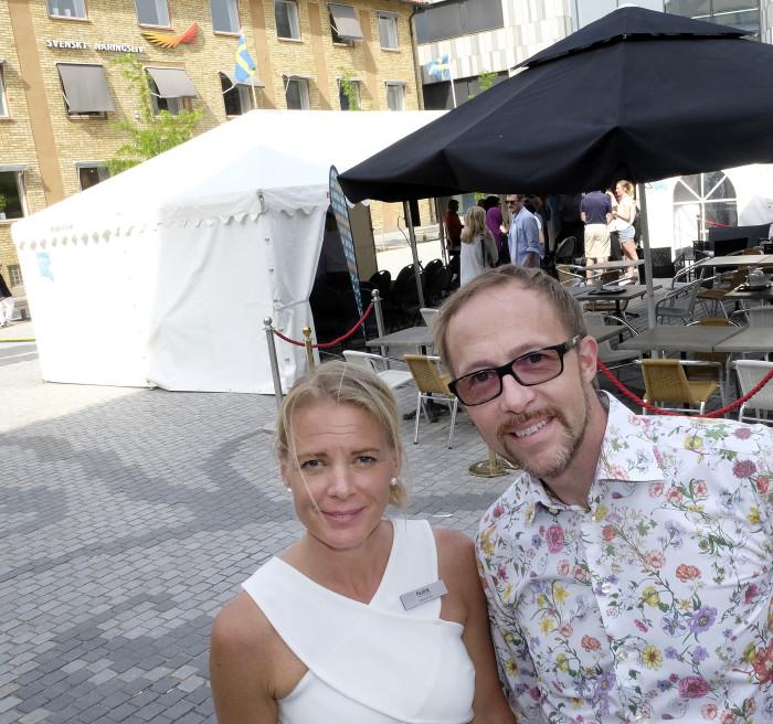 – Entreprenörskapet hör hemma i stadsrummet. Det var Helena Thun, Nulink, och Erik Åqvist, Nyföretagarcentrum, överens om efter den första entreprenörsdagen utomhus i Linköping.