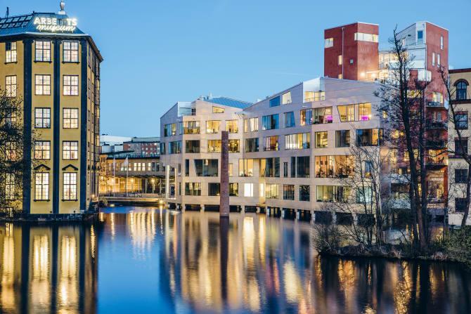 Katscha och Hörsalsparken nominerade till arkitekturpris
