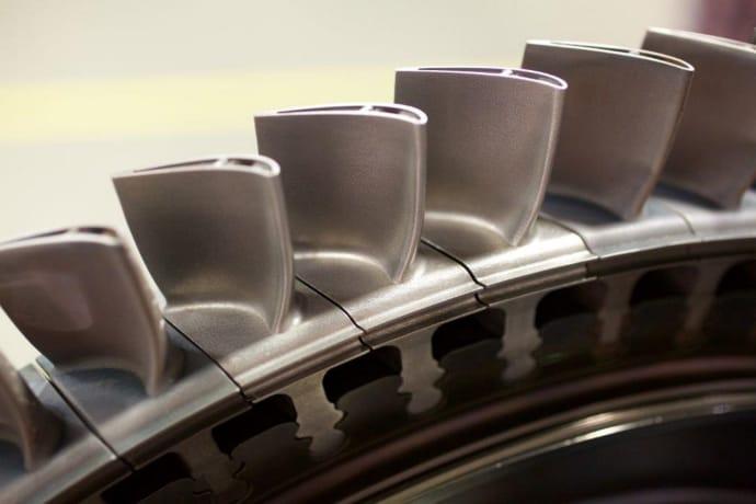 3D-printad gasturbinskovel nytt genombrott inom additiv tillverkning