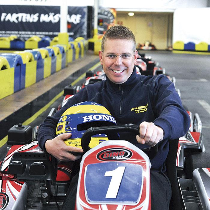 Full fart för Mattias och Go-karthallen