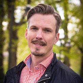 Han ska marknadsföra East Sweden