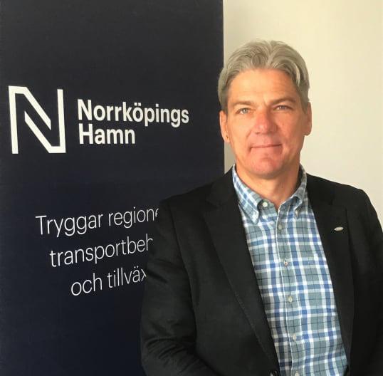 Henrik Åkerström blir ny vd för Norrköpings Hamn