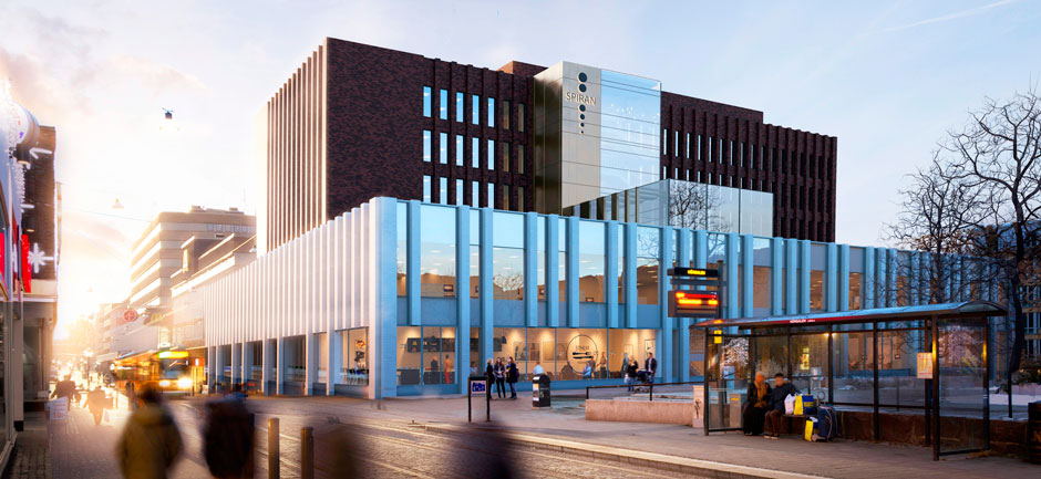 Spiran i Norrköping får nytt liv Illustration: Enter Arkitektur