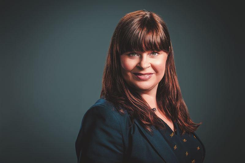 Marie Aktö blir Länsförsäkringar Östgötas nya marknads- och kommunikationschef Marie Aktö. Foto: Satu Knape, Fotograf Satu