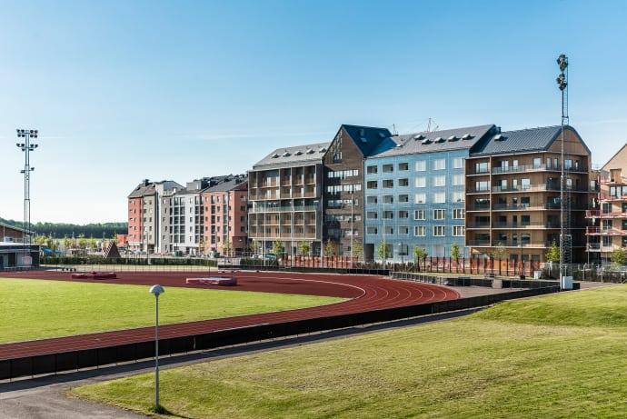 Svenskt rekord i hemutställningar när Vallastaden 2017 öppnar i september