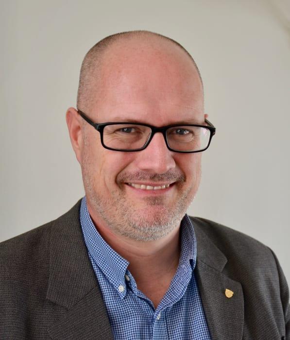 Jakob Algulin blir digitaliseringsdirektör i Linköping. Foto: Linköpings kommun