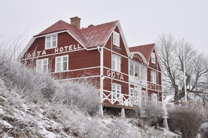Göta hotell i ny regi. Från första 1 februari tar Svecia Travels AB över driften av anrika Göta hotell. Foto: Egon Kjernell