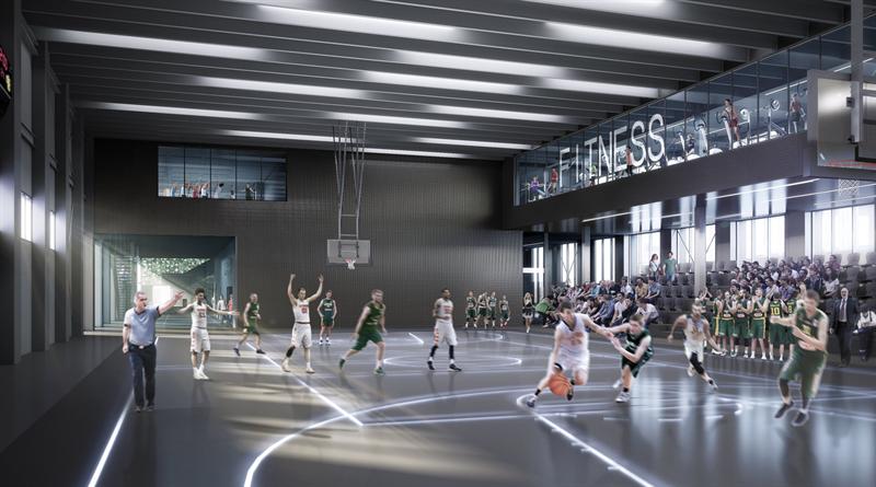Campushallen blir först in i Ebbepark