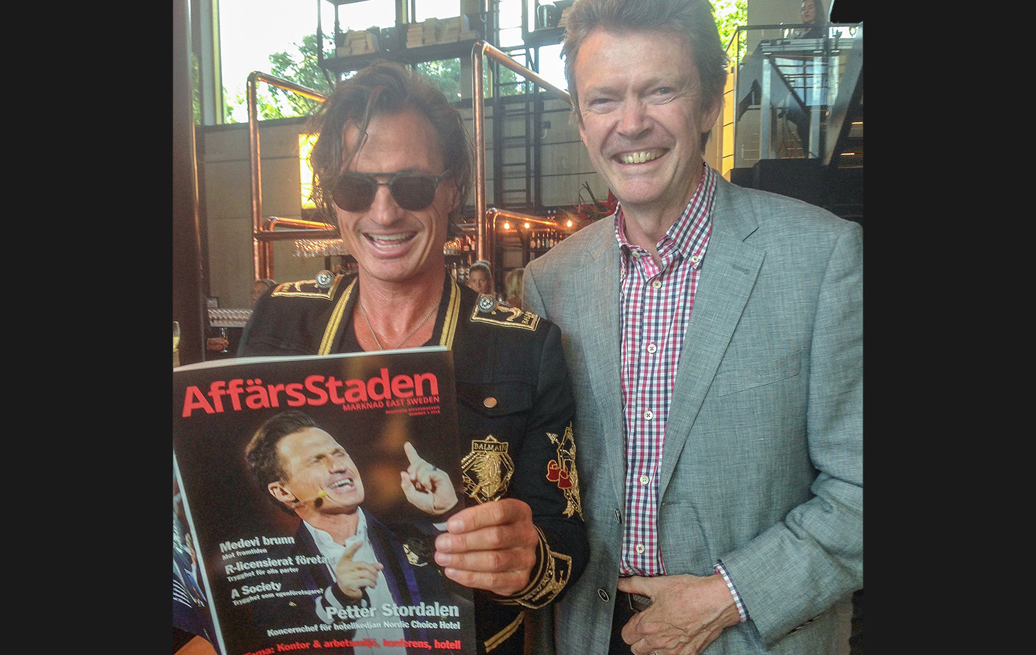 Petter Stordalen invigde Quality Hotel The Box