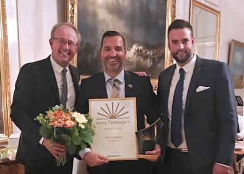 Sigge Bilajbegovic blev Årets företagare i Östergötland