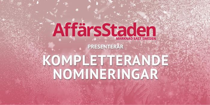 Affärsstaden föreslår kompletterande nomineringar till Linköpings Näringslivsgala!