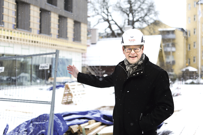 Norrköpings största formades i Estland