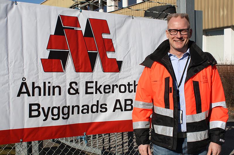 Ny affärsområdeschef hos Åhlin & Ekeroth – Johan Sedin tar Mark