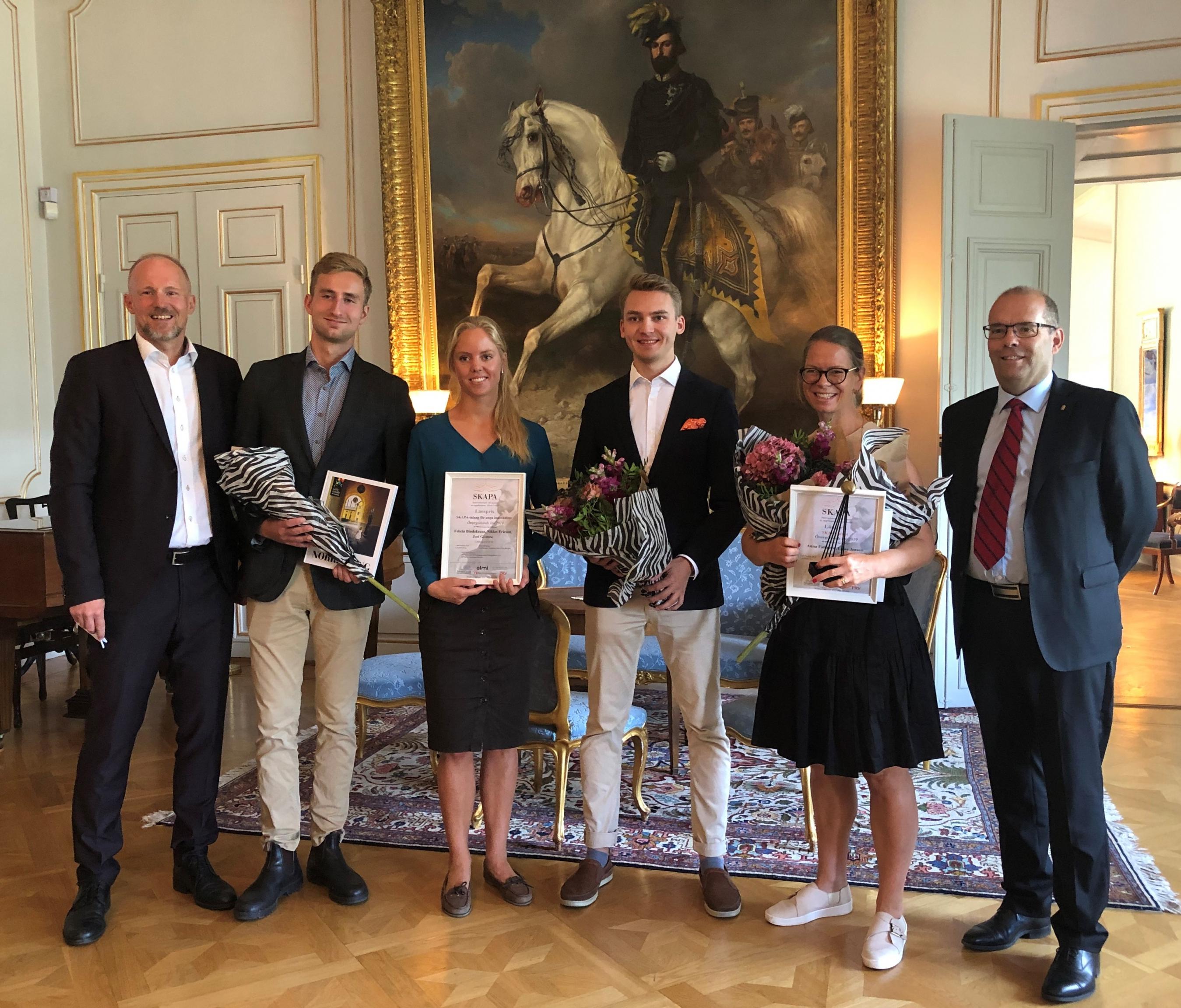 Länsvinnarna av Sveriges största innovationspris, SKAPA-priset har utsetts i Östergötland Foto: Sofia Persson