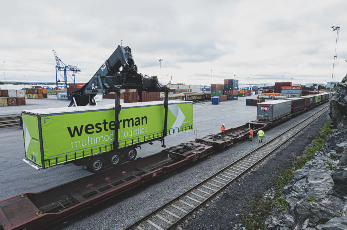 Norrköpings hamn blir hub i kontinental järnvägssatsning