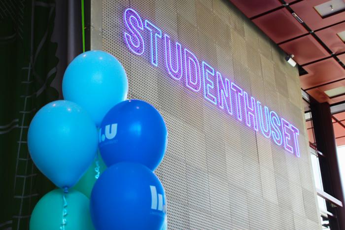 Studenternas egna hus på Campus
