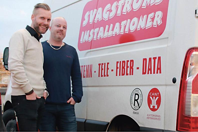 """Svagströmsinstallationer i Norrköping är ett """"Superföretag"""""""