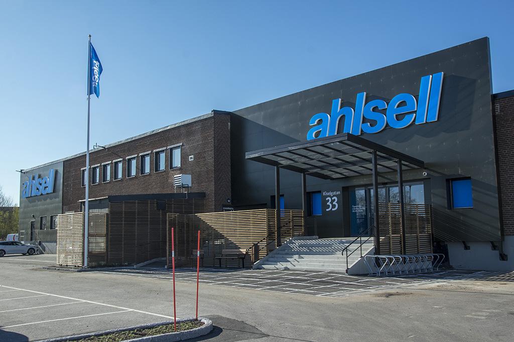 Ahlsell i Norrköping får en av kedjans största anläggningar