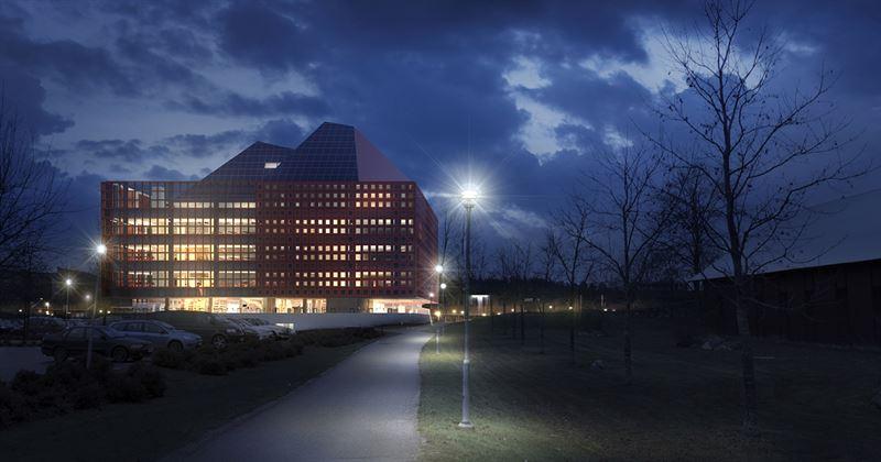Studenthuset i Linköping vinnare av Årets Bygge 2020