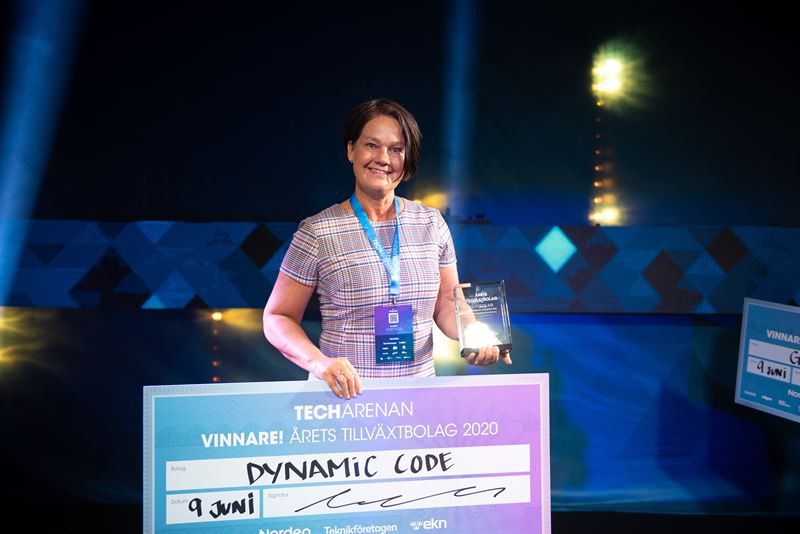 Dynamic Code vann pris för Årets tillväxtbolag