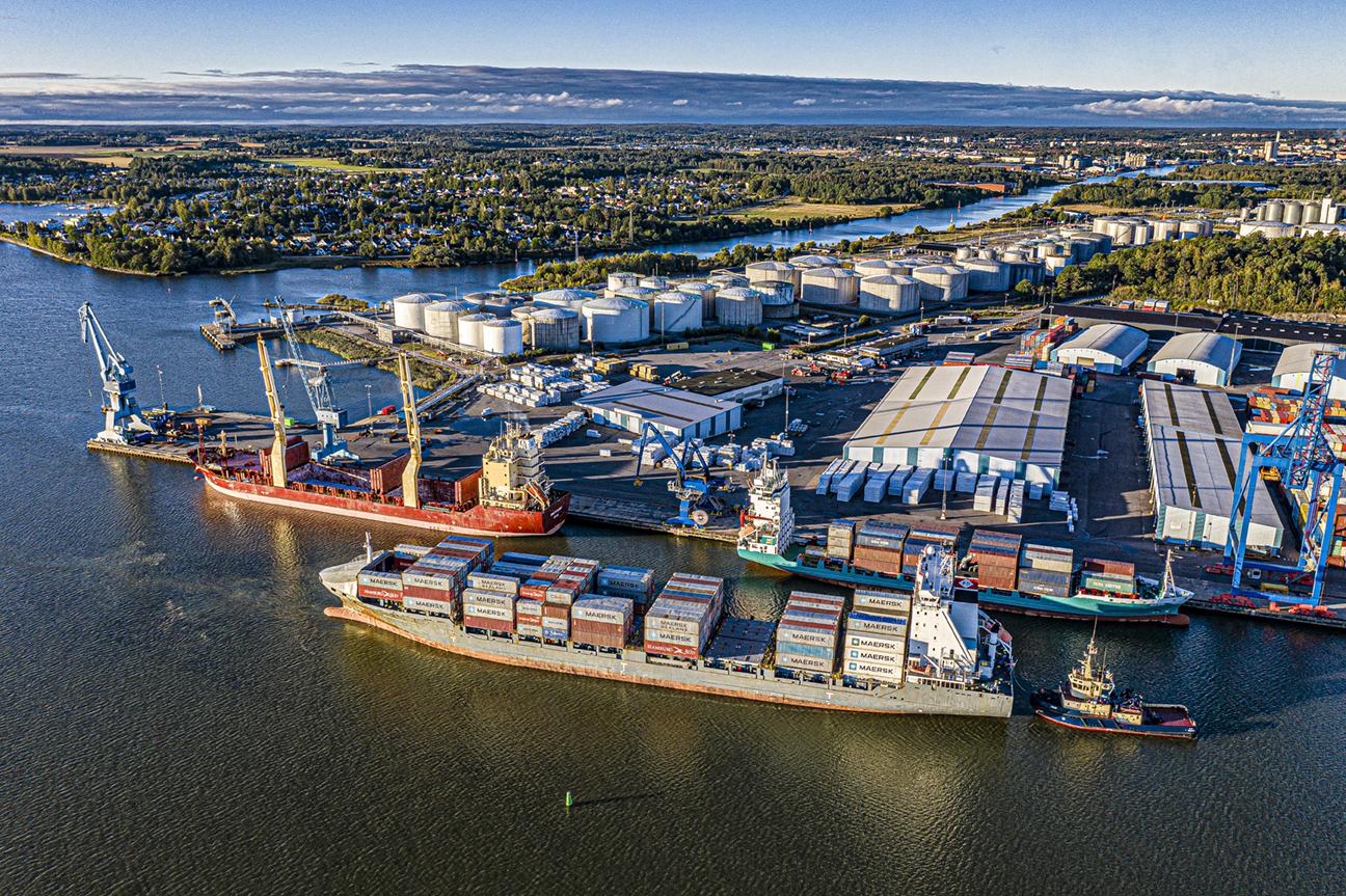 Norrköpings Hamn ska bli en ännu större internationell knutpunkt