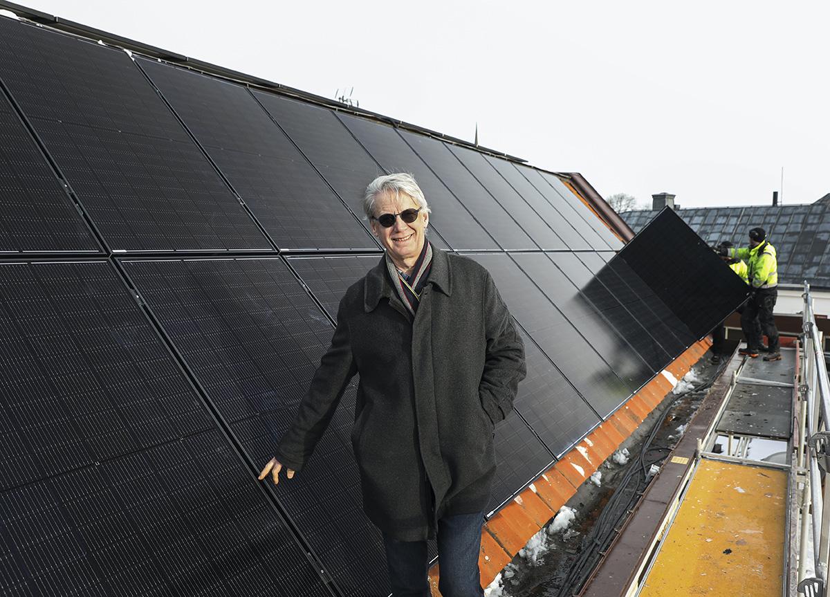 Storsatsning på hållbar solenergi i Vadstena