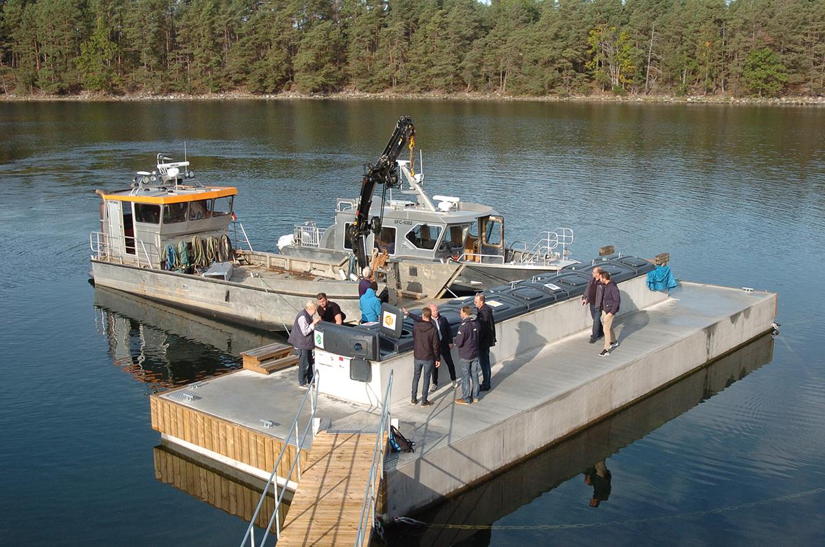 Visionen är att vara Östersjöns ledande miljökommun