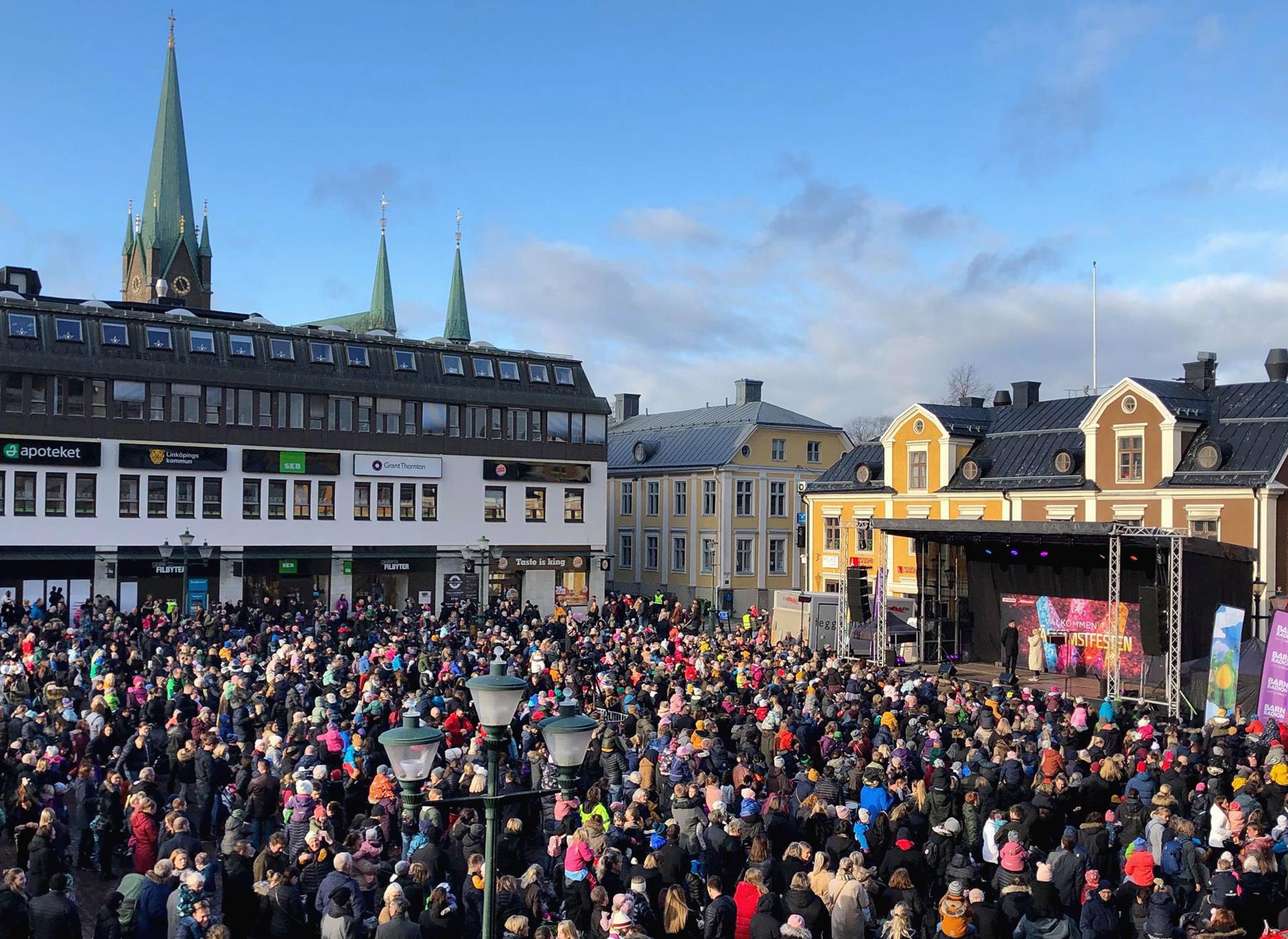 Ny satsning ska fylla Linköpings stadskärna med sommarevents