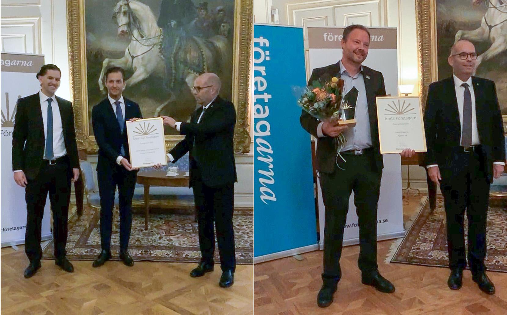 Årets Företagare & Årets Unga Företagare Östergötland  2021 är utsedda
