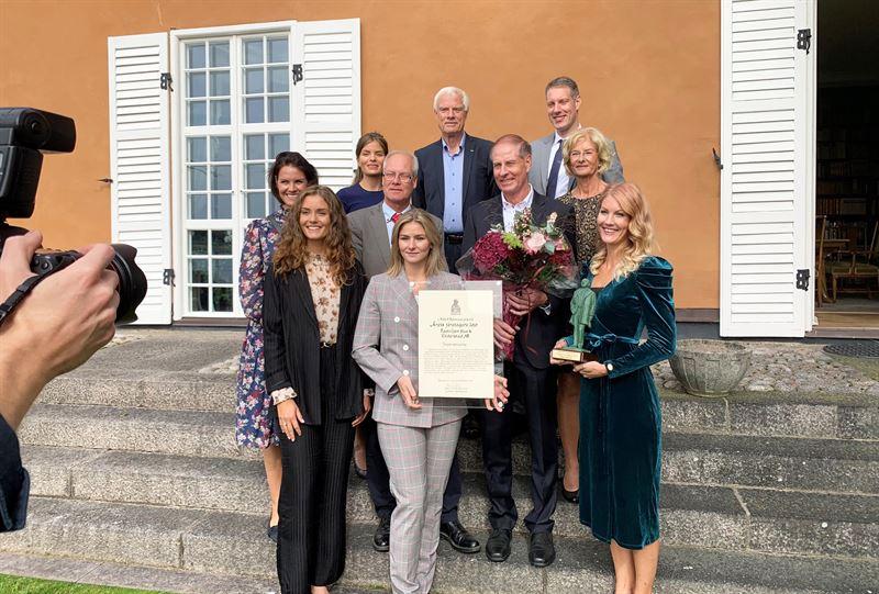 Familjen Stark vinner Albert Bonniers pris som Årets Företagare